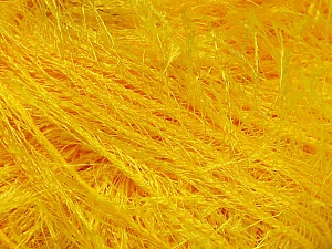 Fiber Content 100% Polyester, Yellow, Brand ICE, Yarn Thickness 5 Bulky  Chunky, Craft, Rug, fnt2-50642