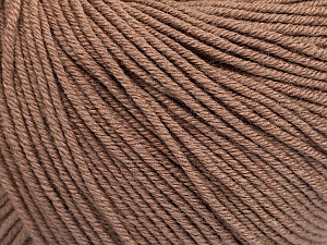 Fiber Content 60% Cotton, 40% Acrylic, Brand ICE, Camel, Yarn Thickness 2 Fine  Sport, Baby, fnt2-51205