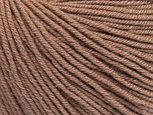 Fiber Content 60% Cotton, 40% Acrylic, Brand ICE, Camel, Yarn Thickness 2 Fine  Sport, Baby, fnt2-51217