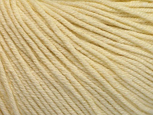 Fiber Content 60% Cotton, 40% Acrylic, Brand ICE, Cream, Yarn Thickness 2 Fine  Sport, Baby, fnt2-51221