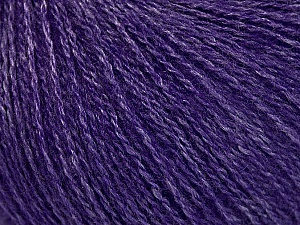 Fiber Content 65% Merino Wool, 35% Silk, Purple, Brand ICE, Yarn Thickness 1 SuperFine  Sock, Fingering, Baby, fnt2-51457