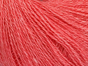Fiber Content 65% Merino Wool, 35% Silk, Pink, Brand ICE, Yarn Thickness 1 SuperFine  Sock, Fingering, Baby, fnt2-51508