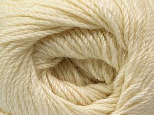 Fiber Content 45% Alpaca, 30% Polyamide, 25% Wool, Brand ICE, Cream, Yarn Thickness 3 Light  DK, Light, Worsted, fnt2-51522
