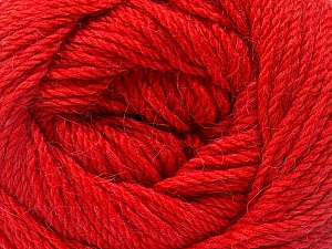 Fiber Content 45% Alpaca, 30% Polyamide, 25% Wool, Tomato Red, Brand ICE, Yarn Thickness 3 Light  DK, Light, Worsted, fnt2-51533