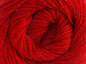 Fiber Content 45% Alpaca, 30% Polyamide, 25% Wool, Brand ICE, Dark Red, Yarn Thickness 3 Light  DK, Light, Worsted, fnt2-51534