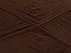 Fiber Content 50% Acrylic, 50% Bamboo, Brand ICE, Brown, Yarn Thickness 2 Fine  Sport, Baby, fnt2-51649