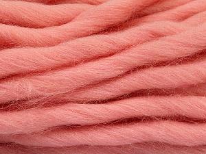 Fiber Content 100% Superwash Wool, Light Pink, Brand ICE, Yarn Thickness 6 SuperBulky  Bulky, Roving, fnt2-51680