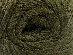 Fiber Content 45% Alpaca, 30% Polyamide, 25% Wool, Brand ICE, Dark Green, Yarn Thickness 2 Fine  Sport, Baby, fnt2-51736