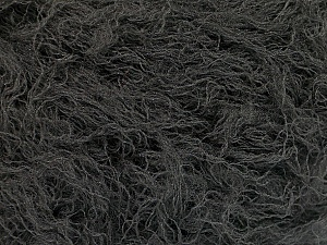Fiber Content 50% Polyester, 50% Polyamide, Brand ICE, Dark Grey, Yarn Thickness 4 Medium  Worsted, Afghan, Aran, fnt2-51894