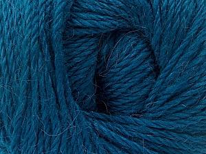 Fiber Content 45% Alpaca, 30% Polyamide, 25% Wool, Turquoise, Brand ICE, Yarn Thickness 3 Light  DK, Light, Worsted, fnt2-51949