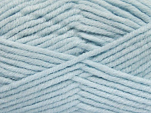 Fiber Content 80% Acrylic, 20% Polyamide, Light Blue, Brand ICE, Yarn Thickness 5 Bulky  Chunky, Craft, Rug, fnt2-52060