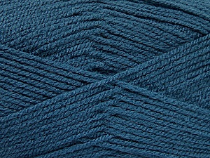 Fiber Content 100% Acrylic, Jeans Blue, Brand ICE, Yarn Thickness 3 Light  DK, Light, Worsted, fnt2-52085