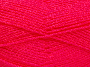 Fiber Content 100% Acrylic, Brand ICE, Candy Pink, Yarn Thickness 3 Light  DK, Light, Worsted, fnt2-52098