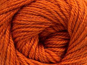 Fiber Content 45% Alpaca, 30% Polyamide, 25% Wool, Orange, Brand ICE, Yarn Thickness 3 Light  DK, Light, Worsted, fnt2-52116