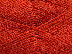 Fiber Content 100% Acrylic, Brand ICE, Dark Orange, Yarn Thickness 2 Fine  Sport, Baby, fnt2-52118