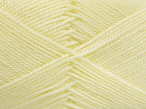 Fiber Content 100% Acrylic, Lemon Yellow, Brand ICE, Yarn Thickness 2 Fine  Sport, Baby, fnt2-52120