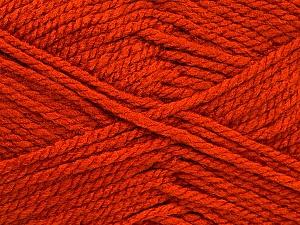 Bulky  Fiber Content 100% Acrylic, Brand ICE, Dark Orange, Yarn Thickness 5 Bulky  Chunky, Craft, Rug, fnt2-52122
