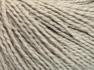 Fiber Content 68% Cotton, 32% Silk, Brand Ice Yarns, Beige, Yarn Thickness 2 Fine  Sport, Baby, fnt2-52151