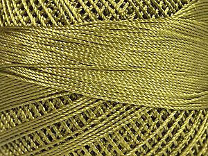 Fiber Content 100% Micro Fiber, Brand YarnArt, Forest Green, Yarn Thickness 0 Lace  Fingering Crochet Thread, fnt2-52263