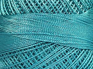 Fiber Content 100% Micro Fiber, Brand YarnArt, Turquoise, Yarn Thickness 0 Lace  Fingering Crochet Thread, fnt2-52267