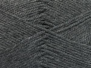 Fiber Content 100% Acrylic, Brand ICE, Dark Grey, Yarn Thickness 2 Fine  Sport, Baby, fnt2-52357
