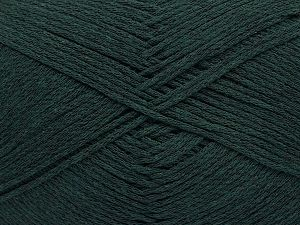 Fiber Content 100% Cotton, Brand ICE, Dark Green, Yarn Thickness 2 Fine  Sport, Baby, fnt2-52364
