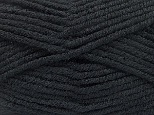 Fiber Content 80% Acrylic, 20% Polyamide, Brand ICE, Black, Yarn Thickness 5 Bulky  Chunky, Craft, Rug, fnt2-52548