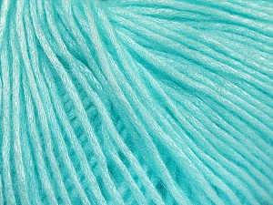 Fiber Content 50% Acrylic, 50% Polyamide, Mint Green, Brand ICE, Yarn Thickness 4 Medium  Worsted, Afghan, Aran, fnt2-52583