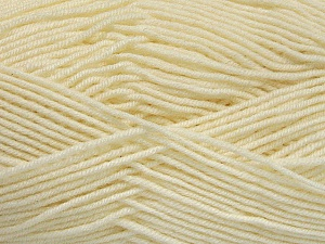 Fiber Content 70% Acrylic, 30% Wool, Brand ICE, Cream, Yarn Thickness 4 Medium  Worsted, Afghan, Aran, fnt2-52606