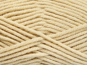 Fiber Content 80% Acrylic, 20% Polyamide, Brand ICE, Dark Cream, Yarn Thickness 5 Bulky  Chunky, Craft, Rug, fnt2-52912