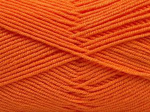 Fiber Content 50% Bamboo, 50% Acrylic, Orange, Brand ICE, Yarn Thickness 2 Fine  Sport, Baby, fnt2-53095
