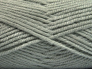 Fiber Content 100% Acrylic, Light Grey, Brand Ice Yarns, Yarn Thickness 5 Bulky  Chunky, Craft, Rug, fnt2-53170