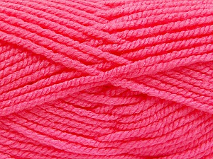 Fiber Content 100% Acrylic, Pink, Brand ICE, Yarn Thickness 5 Bulky  Chunky, Craft, Rug, fnt2-53197