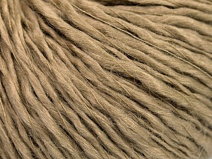 Fiber Content 60% Wool, 40% Acrylic, Brand ICE, Camel, Yarn Thickness 2 Fine  Sport, Baby, fnt2-53360