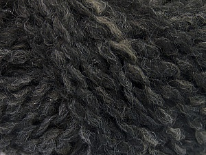 Please note that this is a self-striping yarn and self-effecting. Please see knitted sample to see the color and effect variation. Fiber Content 38% Wool, 32% Acrylic, 20% Alpaca, 10% Polyamide, Brand ICE, Grey, Camel, Black, Yarn Thickness 4 Medium  Worsted, Afghan, Aran, fnt2-53367