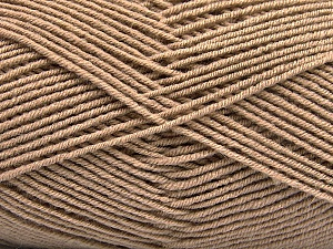 Fiber Content 70% Acrylic, 30% Wool, Brand ICE, Camel, Yarn Thickness 4 Medium  Worsted, Afghan, Aran, fnt2-53714