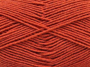 Fiber Content 70% Acrylic, 30% Wool, Terra Cotta, Brand ICE, Yarn Thickness 4 Medium  Worsted, Afghan, Aran, fnt2-53716