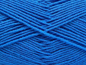 Fiber Content 70% Acrylic, 30% Wool, Brand ICE, Blue, Yarn Thickness 4 Medium  Worsted, Afghan, Aran, fnt2-53719