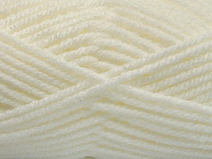 Fiber Content 100% Acrylic, White, Brand ICE, Yarn Thickness 5 Bulky  Chunky, Craft, Rug, fnt2-53763