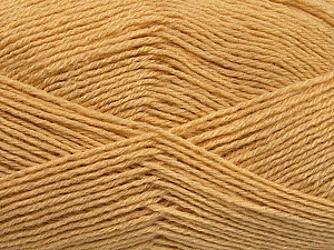 Fiber Content 60% Merino Wool, 40% Acrylic, Brand ICE, Cafe Latte, Yarn Thickness 2 Fine  Sport, Baby, fnt2-53824