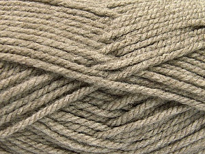 Bulky  Fiber Content 100% Acrylic, Brand ICE, Beige, Yarn Thickness 5 Bulky  Chunky, Craft, Rug, fnt2-54078