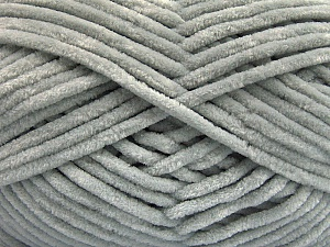 Fiber Content 100% Micro Fiber, Light Grey, Brand ICE, Yarn Thickness 4 Medium  Worsted, Afghan, Aran, fnt2-54141