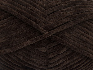 Fiber Content 100% Micro Fiber, Brand ICE, Coffee Brown, Yarn Thickness 4 Medium  Worsted, Afghan, Aran, fnt2-54142