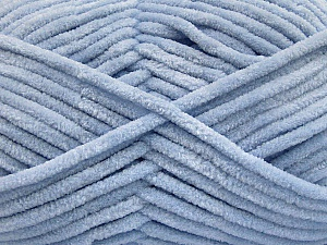 Fiber Content 100% Micro Fiber, Light Indigo Blue, Brand ICE, Yarn Thickness 4 Medium  Worsted, Afghan, Aran, fnt2-54152