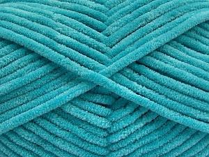 Fiber Content 100% Micro Fiber, Turquoise, Brand ICE, Yarn Thickness 4 Medium  Worsted, Afghan, Aran, fnt2-54153