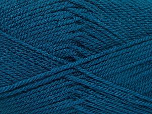 Fiber Content 100% Acrylic, Brand ICE, Dark Teal, Yarn Thickness 2 Fine  Sport, Baby, fnt2-54193