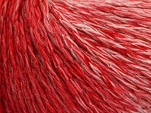 Fiber Content 55% Acrylic, 30% Wool, 15% Polyamide, White, Red, Brand ICE, Yarn Thickness 3 Light  DK, Light, Worsted, fnt2-54394