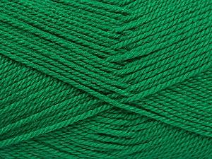 Fiber Content 100% Acrylic, Brand ICE, Emerald Green, Yarn Thickness 2 Fine  Sport, Baby, fnt2-54874