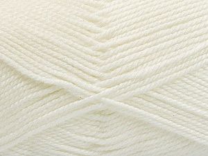 Fiber Content 100% Acrylic, Off White, Brand ICE, Yarn Thickness 2 Fine  Sport, Baby, fnt2-54951