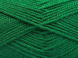 Fiber Content 100% Acrylic, Brand ICE, Emerald Green, Yarn Thickness 2 Fine  Sport, Baby, fnt2-54952